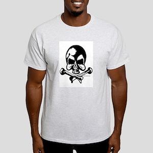 OG Skull T-Ash Grey