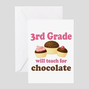 Funny 3rd Grade Greeting Card