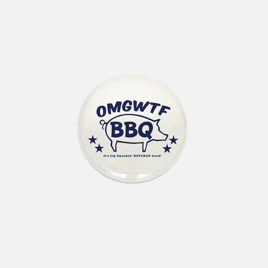 OMGWTFBBQ Mini Button