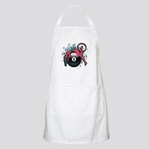 8-Ball Devil Girl BBQ Apron
