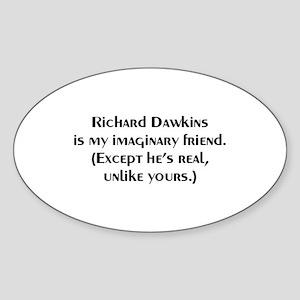 DAWKINS Oval Sticker