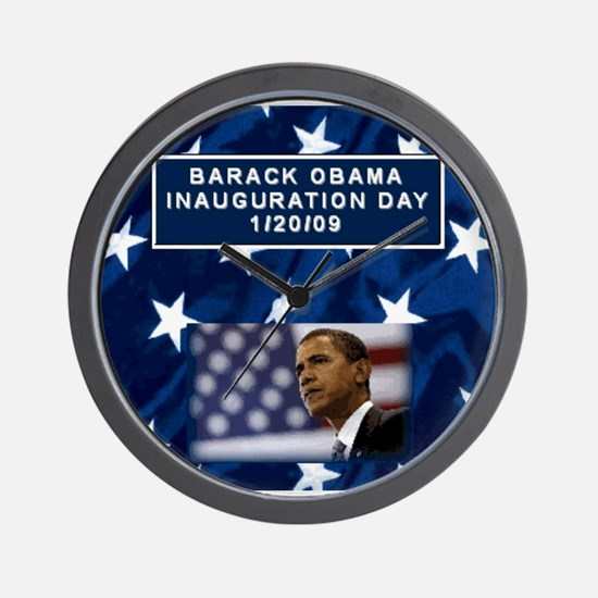 Unique Inauguration party Wall Clock