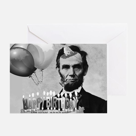 Lincoln's Birthday Greeting Card