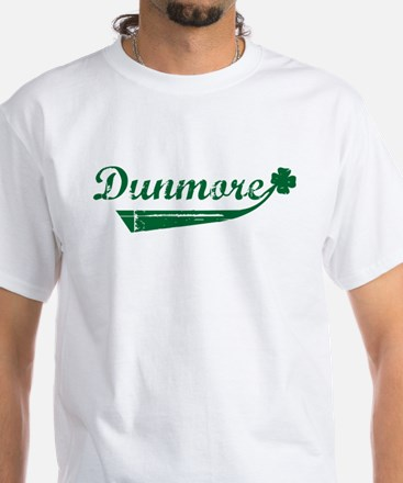 Dunmore St. Patrick's Day White T-Shirt