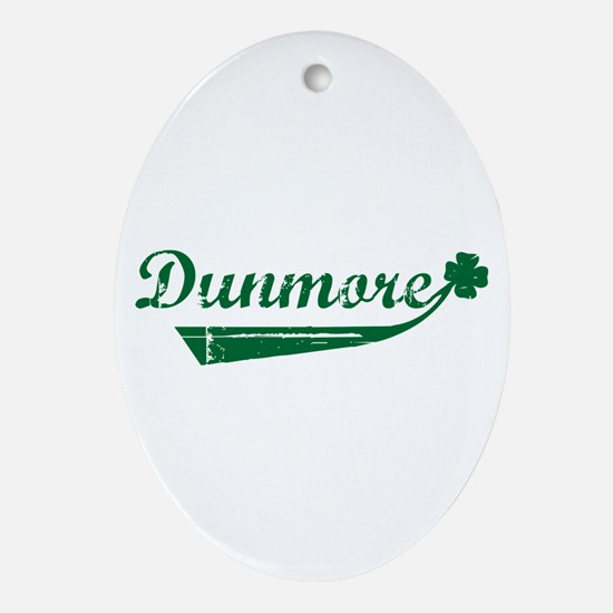 Dunmore St. Patrick's Day Oval Ornament