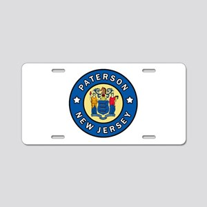 Paterson New Jersey Aluminum License Plate