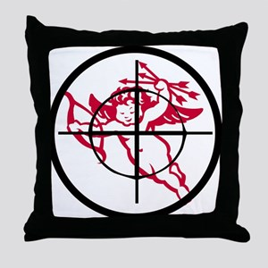 kill cupid /2 Throw Pillow