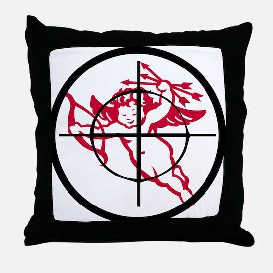kill cupid /2 Throw Pillow