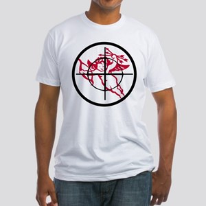 kill cupid /2 Fitted T-Shirt