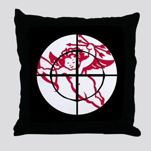 kill cupid /1 Throw Pillow