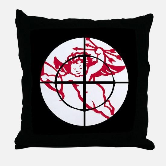 kill cupid /1 Throw Pillow