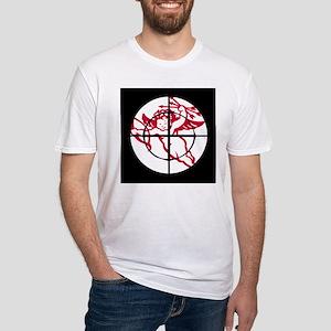kill cupid /1 Fitted T-Shirt