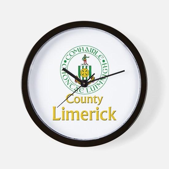 County Limerick Wall Clock