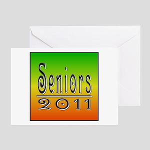 Guttenberg Fade 2011 Greeting Card