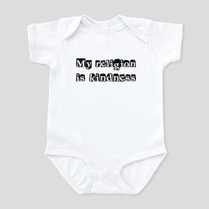 My Religion Is Kindness Shirt Infant Bodysuit