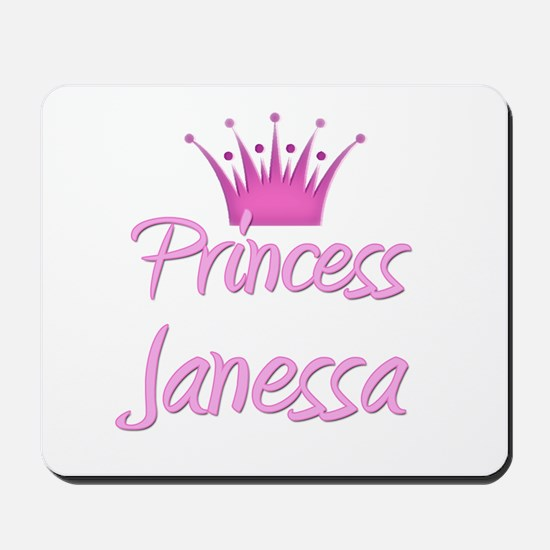Princess Janessa Mousepad