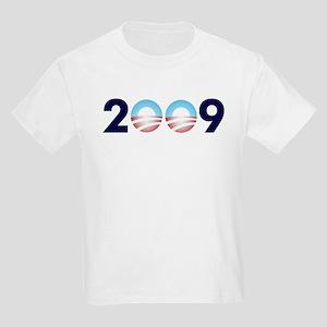 2009 Barack Obama Logo Kids Light T-Shirt