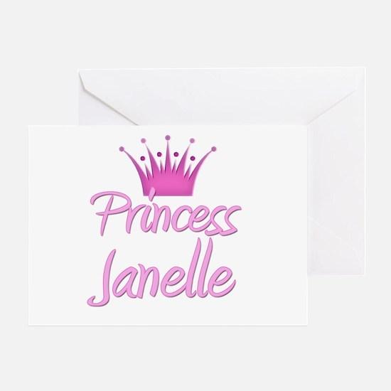 Princess Janelle Greeting Card