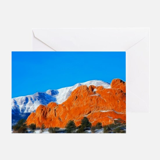 Love in the Foothills Greeting Card