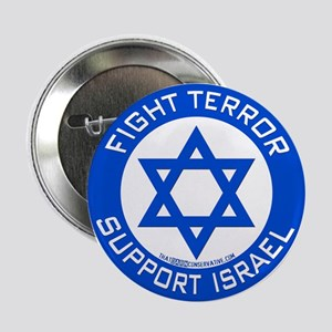 """I Support Israel 2.25"""" Button"""