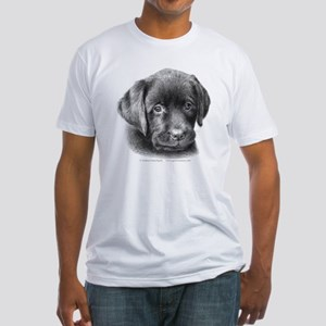 Labrador Puppy Fitted T-Shirt