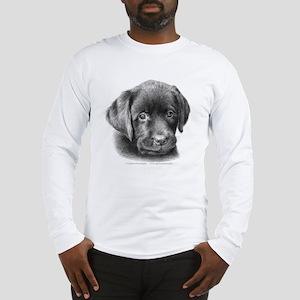 Labrador Puppy Long Sleeve T-Shirt