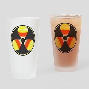 Radiology Tech Halloween Candy Corn Drinking Glass