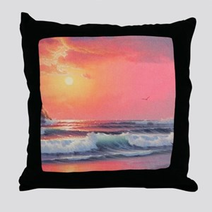 """""""Whaleshead Waters"""" Throw Pillow"""