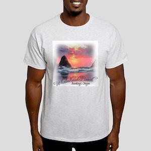 Whaleshead Oregon Ash Grey T-Shirt
