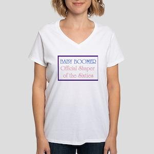 Boomer Women's V-Neck T-Shirt