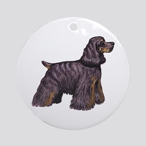 American Cocker Spaniel Ornament (Round)