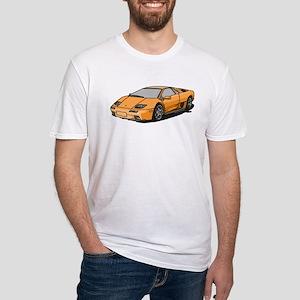 Lamborghini Diablo 2001 Fitted T-Shirt