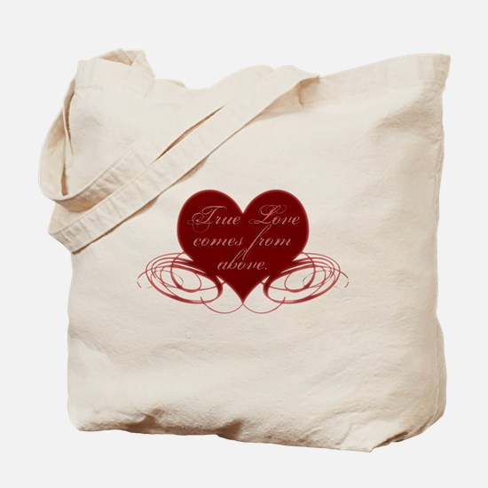 Christian Valentine's Day Tote Bag