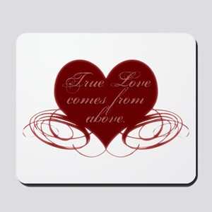 Christian Valentine's Day Mousepad