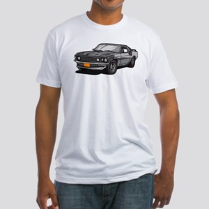 1969 Ford Mustang Mach 1 Fitted T-Shirt