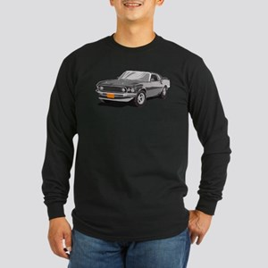Artsy Version - 1969 Ford Mus Long Sleeve Dark T-S