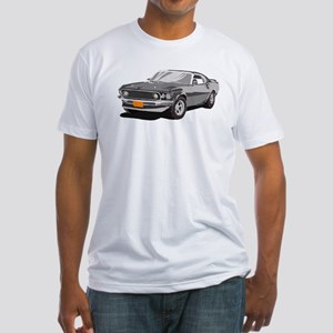 Artsy Version - 1969 Ford Mus Fitted T-Shirt