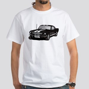 1966 Ford Mustang White T-Shirt