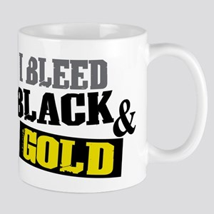 Bleed Black and Gold Mug