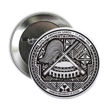 "Seal of American Samoa 2.25"" Button"