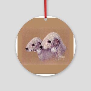 Bedlingtons-Double Trouble Ornament (Round)