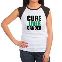 Cure Liver Cancer Women's Cap Sleeve T-Shirt