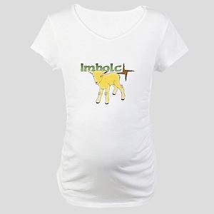Imbolc Maternity T-Shirt