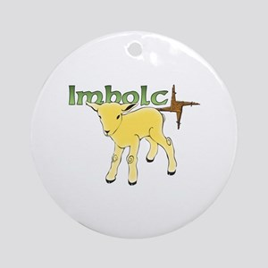 Imbolc Ornament (Round)