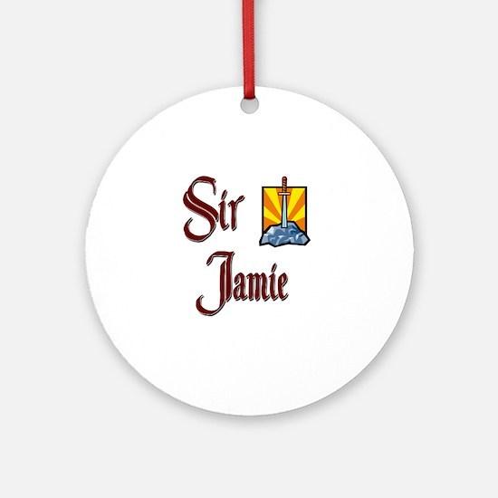 Sir Jamie Ornament (Round)