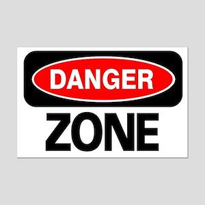 Danger Zone Mini Poster Print