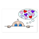 BABY LOVE Postcards (Package of 8)
