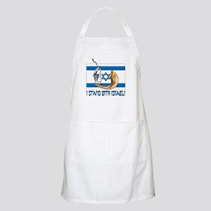 I stand with Israel 2 BBQ Apron