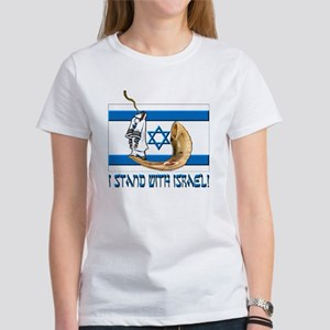 I stand with Israel 2 Women's T-Shirt