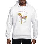 Carousel Horse Hooded Sweatshirt